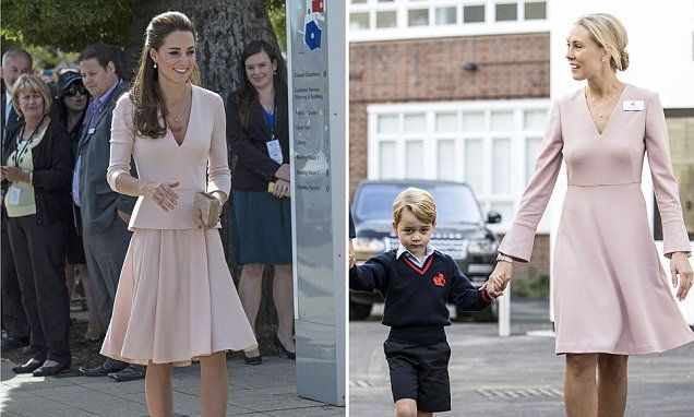The Duchess Of Cambridge And Sussex Deliver A Masterclass In Nude Make