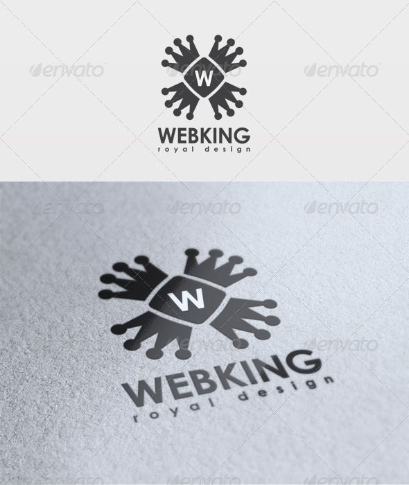 Web King Logo  #GraphicRiver         File: -  PSD - Vector -  CMYK - Text can change   Fonts: Century Gothic – basic     Created: 26March12 GraphicsFilesIncluded: PhotoshopPSD Layered: Yes MinimumAdobeCSVersion: CS2 Resolution: Resizable Tags: WebKingLogo #emd #todik