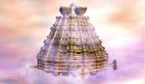 """The propulsion of the Vimanas according to Kanjilal (1985) is by a """"Mercury Vortex Engines"""", a concept similar to electric propulsion."""