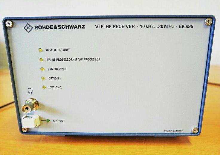 EK 895 von Rhode&Schwarz wird jetzt auch von RadioCom 6 gesteuert.