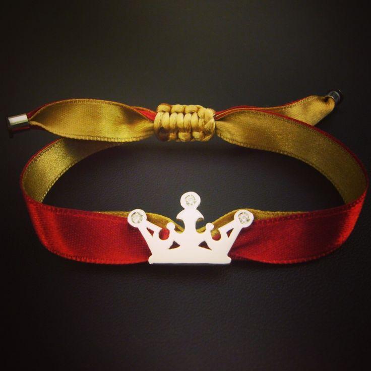 Princesse Ficelle - Bracelet couronne