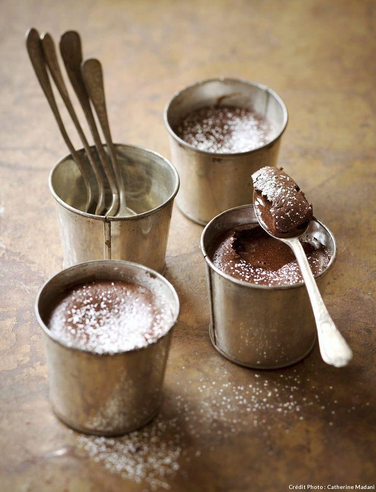Crémeux au chocolat très facile pour les dessert de dernière minutes !!!!❤