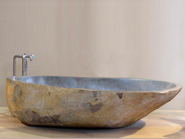 les 77 meilleures images du tableau vasques en pierre naturelle sur pinterest lavabos pierre. Black Bedroom Furniture Sets. Home Design Ideas