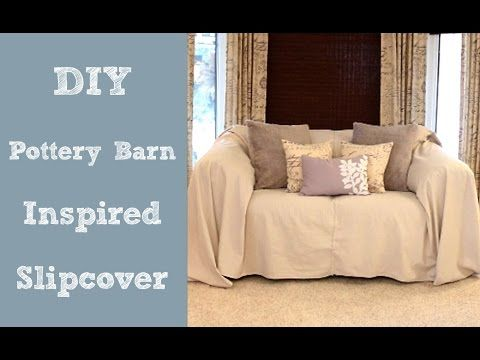 Hi Homebodies. I'm super excited about this week's tidbit - DIY Pottery Barn Inspired Slipcover - made out of a dropcloth. I love the casual, coastal feel of...