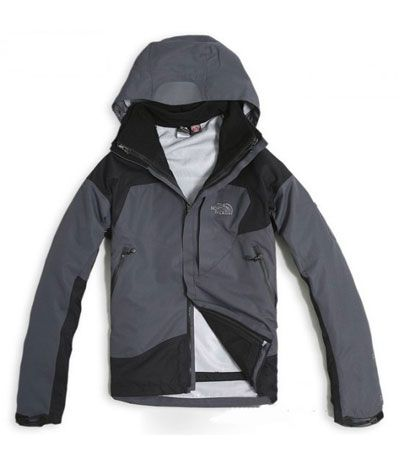 The North Face Gore Tex 3 in 1 Jacket Men Gray