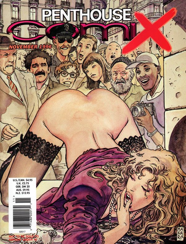 Penthouse Comix # 17 - November 1996