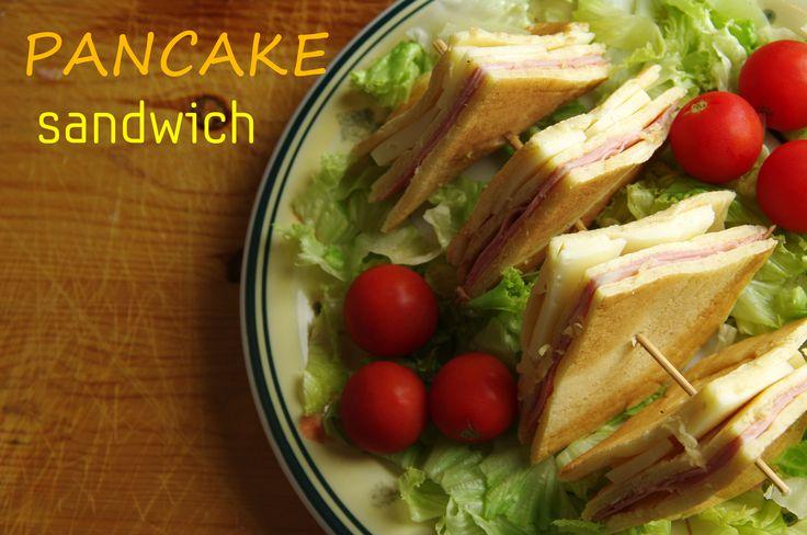 Pancake sandwich