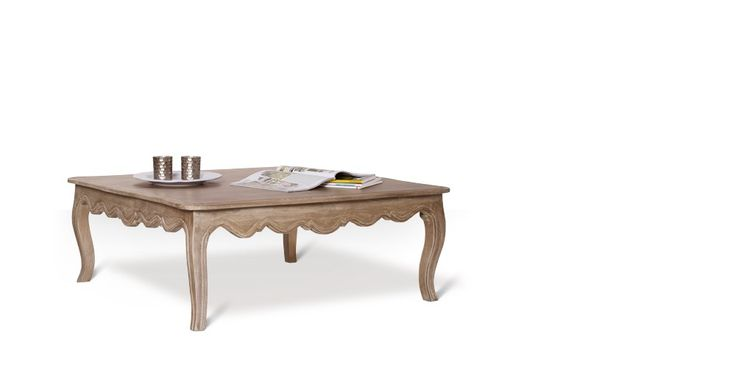 Swoon Editions Coffee table, French style in mango wood - £229
