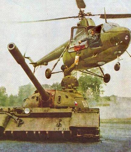 Czechoslovak T-55 Mod.1958