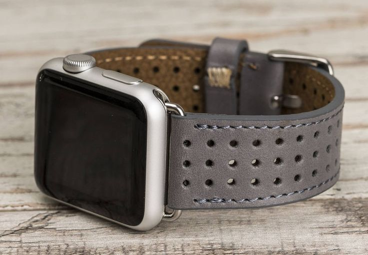 Apple Watch band, 42mm, 38mm, Leather Apple band, Apple watch strap, iwatch band, Leather Apple band, watch band 42mm, black iwatch strap by o2leather on Etsy