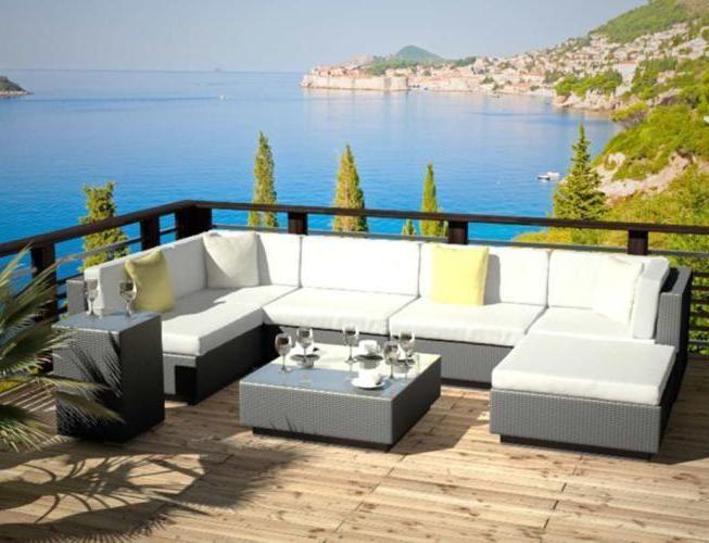 Die 25+ Besten Ideen Zu Lounge Garnitur Auf Pinterest | Balkon ... Terrasse Lounge Mobeln Einrichten