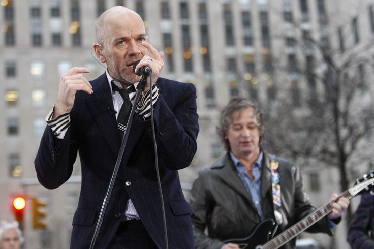 """R.E.M. slams Donald Trump: """"We do not authorize or condone the use of our music at this event"""" The candidate came out to """"It's The End of the World as We Know It"""" at a Tea Party rally today: At a Tea Party rally on the West Lawn of the U.S. Capitol today where anger spilled out over the Iran deal, Donald Trump greeted the crowd to the strains of R.E.M.'s """"It's the End of the World As We Know It [And I Feel Fine]"""" which — needless to say — puzzled music fans:"""