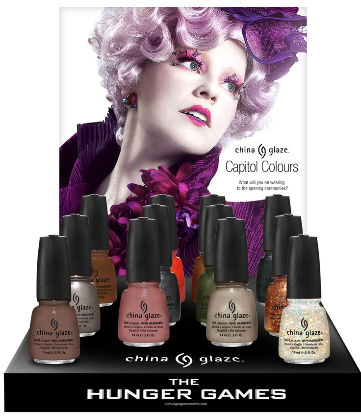 Hunger Games inspired nail polish, what will you be wearing to the opening ceremonies?: Nail Polish, The Hunger Games, Nails Colors, China Glaze, Nailpolish, Nails Polish, Thehungergam, Glaze Hunger, Hunger Games Nails