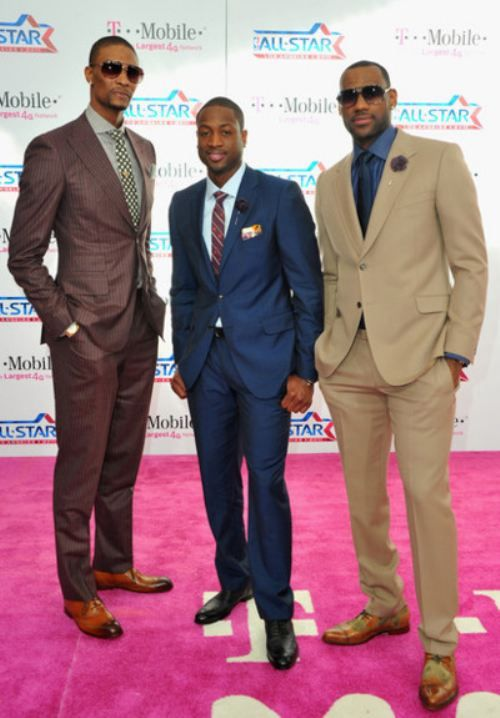 If these well-dressed men on the red carpet are not wearing African made clothes, they might still be zombies like the rest of us....From cotton balls to basketballs, from slave owner to basketball franchise owner....just an observation....but they do have skill!!!