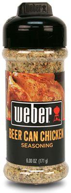 Beer Can Chicken Seasoning Weber®  Labeled GF