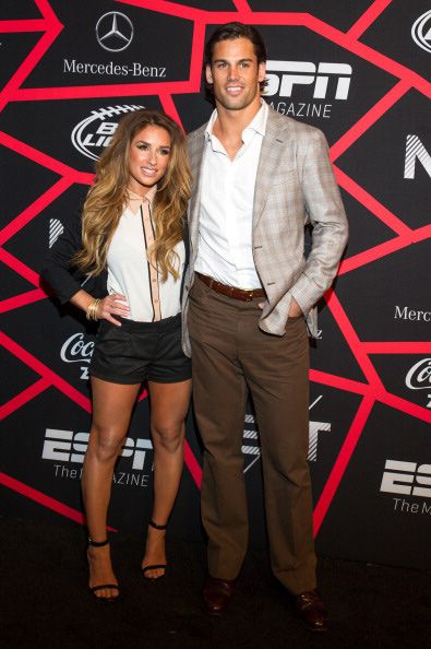 "Eric Decker, Denver Broncos wide receiver, with wife, country singer Jessie James has views on ""jealousy."" Eric states people tweet him that ""they want to **** his wife."" He finds it flattering. As a 6'3"", 214-pound professional football player, keeping calm; results in less bar fights. Jessie' song ""Guilty"" is about an unnamed rock star, which cheated on her with groupies, also her cheating without guilt. She stated, honesty makes successful relationships."