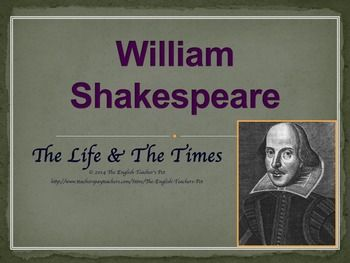 "an introduction to the life of william shakespeare a playwright and poet In his lifetime, he saw many of his plays published, the reading public  of the "" ever-living poet"", how shakespeare affected the lives of the."