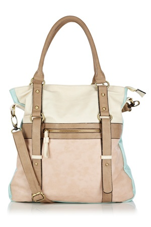This practical tote bag comes with a detachable shoulder strap plus internal zip pocket and mobile phone holder. In this season key pastel colours, this is a stand out piece.: Shopper Bags, Sweet Spring, Pastel Colour, Totes Bags, Summer Bags, Ice Cream, Mobiles Phones, Spring Style, Cream Shopper