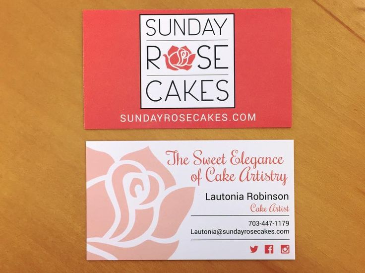 Gorgeous new logo and business cards created for Sunday Rose Cakes, LLC located in Fredericksburg, Virginia. A beautiful custom website is in the works and will be completed very soon! #SundayRoseCakes #logodesign #websitedesign #marketingagency #fxbgva We are a full-service marketing agency headquartered in Fredericksburg, VA.  Visit us at: www.ChildressAgency.com