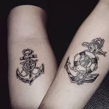 Resultado de imagem para tatuagem ancora colorida masculina