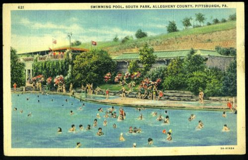 1943 swimming pool south park allegheny county pittsburgh - Riverview swimming pool pittsburgh pa ...