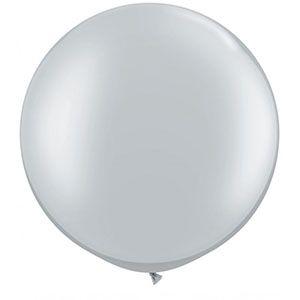 Büyük balon, jumbo balon, gri balon, gümüş balon, doğum günü partisi, parti malzemeleri, doğum günü süslemeleri, doğum günü kutlaması,