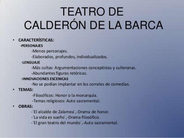 Autores Y Obras Del Teatro En El Siglo De Oro Espanol Calderon De La Barca Otro De Los Dramaturgos Del Siglo De O Siglo De Oro Espanol Siglos De Oro Espanol