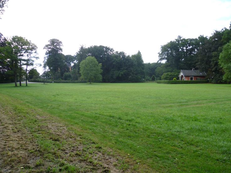 2013-09-15 Het gehele grasveld van Huize 't Schol