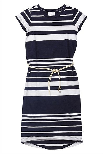 Girl's New In Clothes & Fashion | Witchery Online - High Low Stripe Maxi