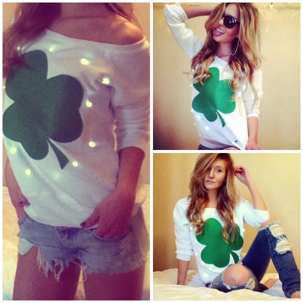 Visit http://etsy.me/1h8O9ee to get your very own st pattys day attire!! #fashion #stpattys #outfit #cuteoutfit #womemsfashion #love #lightup #sweater #lightupsweater