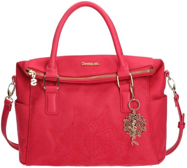 Dámske doplnky - Kabelky - Ružová - Desigual ružová kabelka Liberty Emma