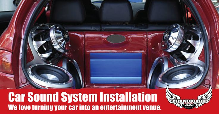 If you just want to upgrade your CD player or install a complete system with new speakers, amplifier and subwoofer system. We love turning your car into an entertainment venue. #Mechanic #SoundSystem