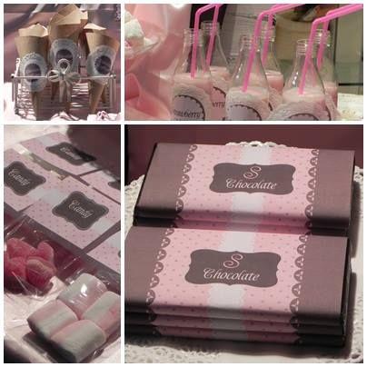 sweet chocolat party
