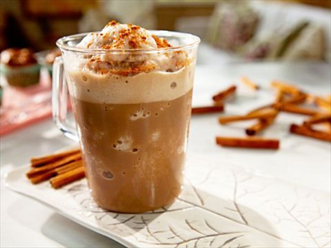 Frosty Cappuccino Coffee Drink from CookingChannelTV.com