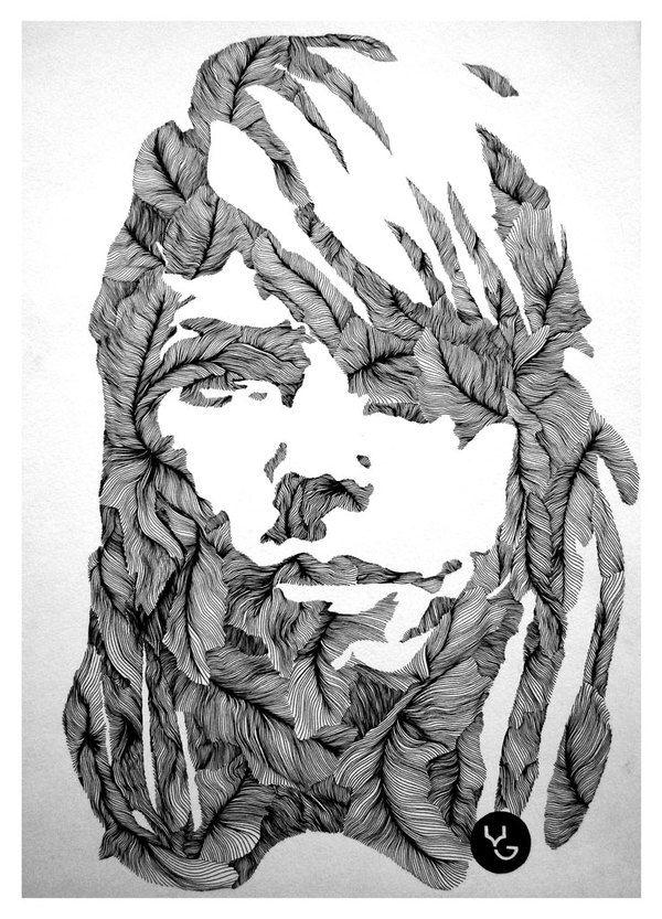 Line Drawings by Vasilj Godzh