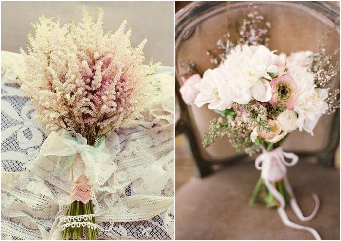 Bukiet Slubny Z Polnych Kwiatow Wedding Table Decorations Glass Vase