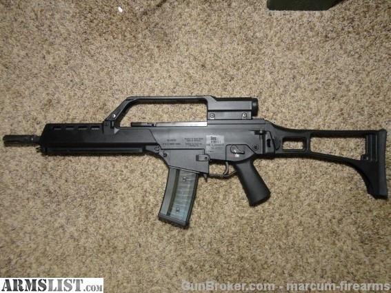 For Sale:  HECKLER & KOCH G36-K POST SAMPLE MACHINE GUN 5.56