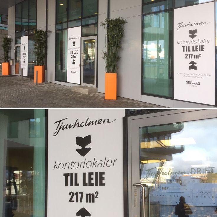 Kampanje folie på vinduer #vindusdekor #vindusfolie #spoton #foliexperten #oslo www.foliexperten.no/Vindusdekor/