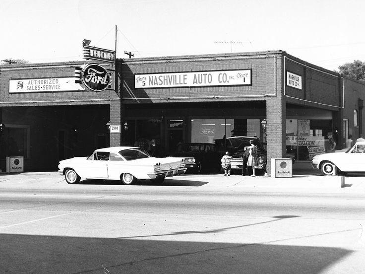 1961 Nashville Auto Company Ford Dealership, Nashville