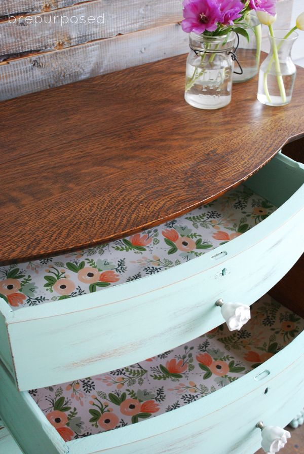 How to Line Furniture Drawers