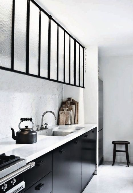 Office Kitchen: Monochrome Inspiration