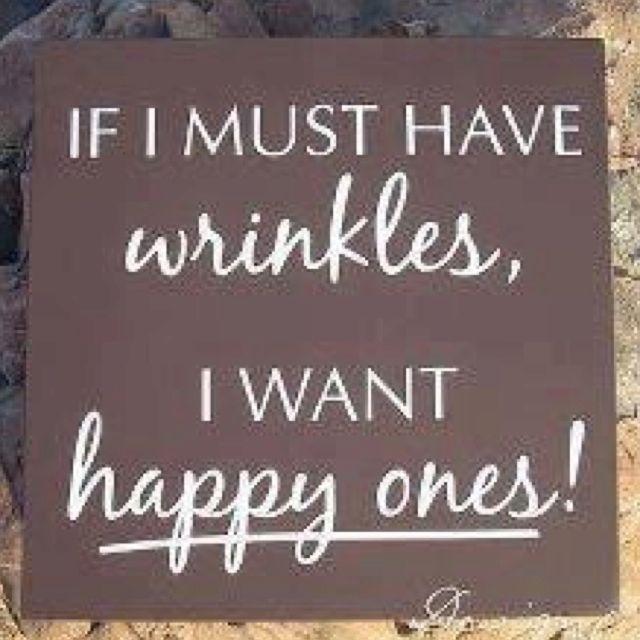 Happy Wrinkles!!