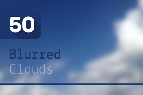 Check out 50 Blurred Clouds by Riccardo Anelli on Creative Market