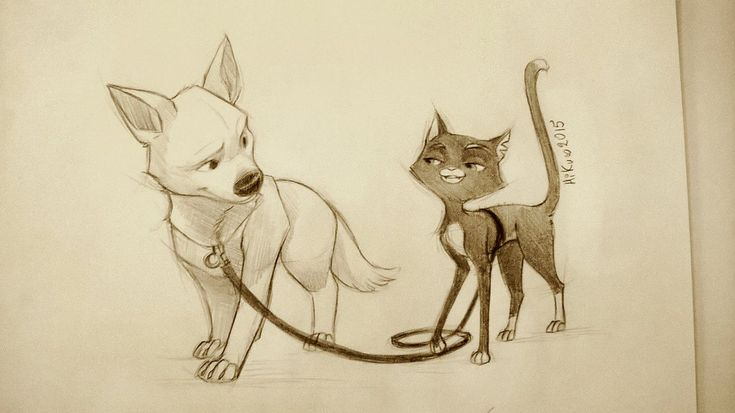 Bolt and Mittens - Bounded by Hi-Ku on DeviantArt