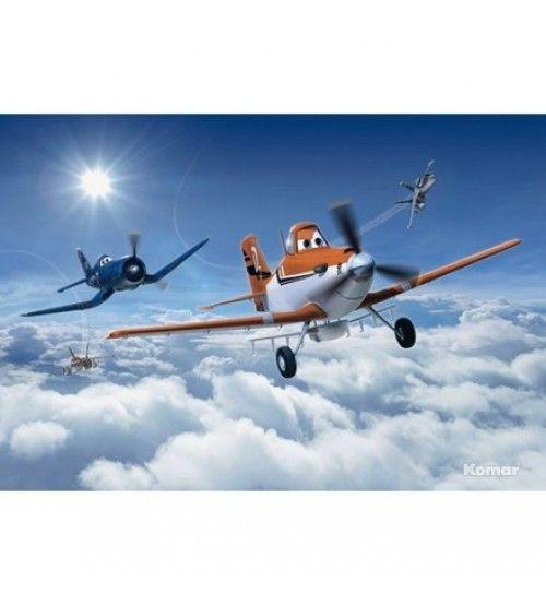 Bulutlar Uçak Çocuk Odası Resimleri 368cmx254cm