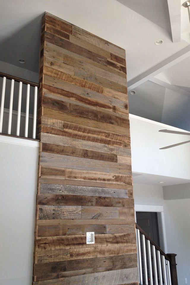 Barn wood wall by Good Wood Nashville @ www.goodwoodnashville.com