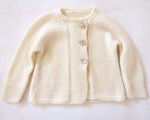 We Like Knitting: Jacket and socks in moss st - Free pattern