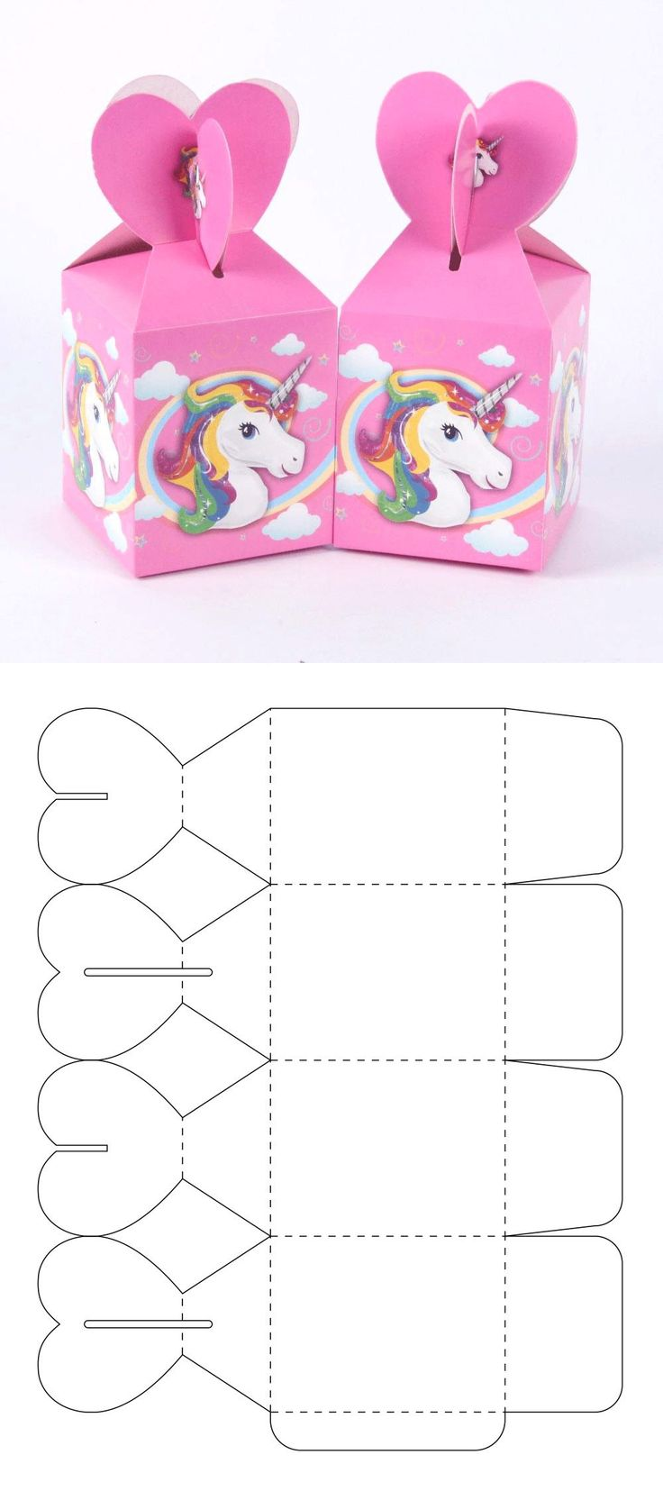 The best ideal box for your candy bar or to give candies at parties. Cool Paper Crafts, Paper Crafts Origami, Diy Crafts For Gifts, Foam Crafts, Diy Gift Box Template, Paper Box Template, Box Templates, Origami Templates, Creative Box