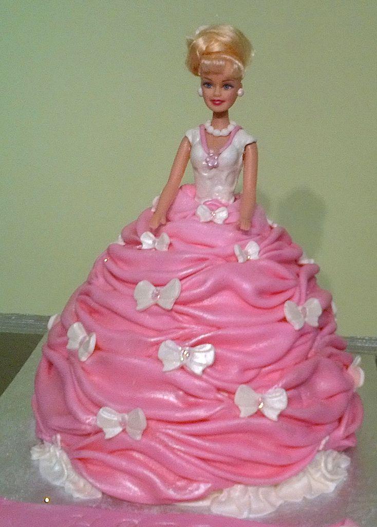Best Doll Cakes Images On Pinterest Doll Cakes Barbie Cake - Birthday cake doll princess