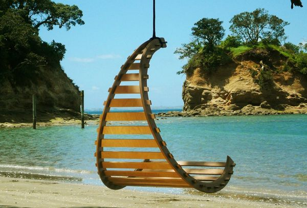 silla colgante exterior playa beach hanging chair decoración decoration miraquechulo